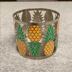 Pineapple Candle Sleeve Holder
